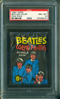 1964 TOPPS BEATLES COLOR WAX PACK PSA 8 NEAR MINT-MINT