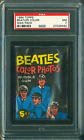 1964 TOPPS BEATLES COLOR WAX PACK PSA 7 NEAR MINT