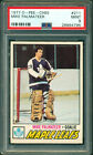 1977 78 OPC #211 MIKE PALMATEER RC PSA 9 MINT ROOKIE CARD MAPLE LEAFS