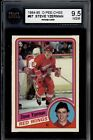 1976 77 OPC #181 DAVE MALONEY ROOKIE CARD BGS BVG 9 MINT!!