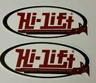 HI LIFT racing STICKERS DECALS 3X7 RACING FREE SHIPPING offroad mint crawl jeep