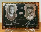 TIGER WOODS ARNOLD PALMER #10 10 ALL TIME GREAT MASTER COLLECTION DUAL HARD AUTO