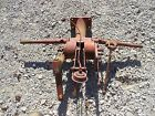 Farmall IH SC Super C tractor hydraulic control tower w valve handle lever