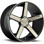 20x10 Black Flake Niche Milan M134 Wheels 5x45 +40 LEXUS SC 430 IS F GS 350