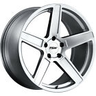 19x85 Silver TSW Ascent Wheels 5x112 +43 Fits Bentley Continental