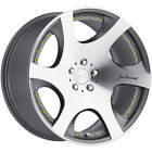 20x105 Gunmetal MRR VP3 Wheels 5x425 +40 Fits Jaguar XKR S Type XK XJ