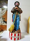 McCormick Weary Willie Emmett Kelly Clown Musical Decanter