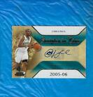 CHRIS PAUL AUTO 2007-08 SP ROOKIE THREADS SCRIPTED IN TIME AUTOGRAPH ! !