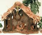 FONTANINI DEPOSE ITALY 25 RESIN MUSICAL NATIVITY VILLAGE STABLE SET 50038 MIB