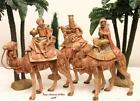 FONTANINI DEPOSE ITALY EARLY 753 KINGS ON CAMELS NATIVITY VILLAGE 51814 SPIDER