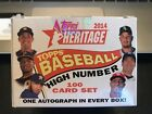 2014 Topps Heritage High Number Baseball Hobby Box - Partial Set 98 100 w Betts