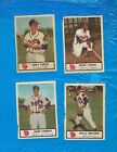 HANK AARON 1955 BRAVES JOHNSTON COOKIES 6 DIF ANDY PAFKO KOSLO LOGAN COONEY +