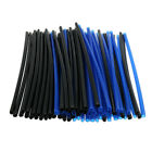 72Pcs Universal Motorcycle Bike Wheel Spoke Wrap Skins Cover Rim Dark Blue+Black
