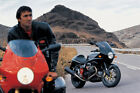 Moto Guzzi V11 Le Mans Rosso Corsa motorcycle photo photograph factory press