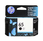 HP 65 Black Ink Cartridge 65 N9K02AN NEW GENUINE
