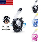 Anti Fog Full Face Mask Swimming Breath Surface Diving Snorkel Scuba for GoPro
