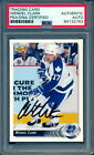 WENDEL CLARK AUTOGRAPH SIGNED ON 1992 UD #89 Toronto Maple Leafs PSA DNA Card