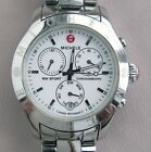 MICHELE MW SPORT Chronograph MW03Q00A0001 Women's Watch with NEW BATTERY