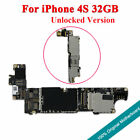 Original 32GB Motherboard Unlocked Fully Working Chips Logic Board For iPhone 4S