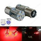 2x 567 PR21 5W 780 BAW15d Bulb 40 SMD Red LED Fog Tail Stop Brake Light Lamps