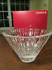 New in Box ORREFORS Large 9 Crystal Glass CARAT BOWL Anne Nilsson 5170 13