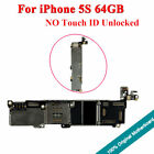 Original Motherboard Unlocked Fully Working Chips Logic Board 64GB For iPhone 5S