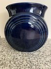 Fiesta Cobalt Blue Millennium II Vase, Retired, unused, label