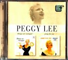 PEGGY LEE 2on1 CD 'Things Are Swingin' - 'Jump For Joy' (1996) Remastered Albums