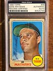 Eddie Mathews Cards and Autographed Memorabilia Guide 33