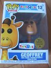 FUNKO Pop Ad Icons #12 GEOFFREY Toys R Us TRU Exclusive Golden Ticket Sealed NEW