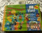 Golden Books Go Pack Elmo  His Friends Playset Sesame Street Punch Out Playset