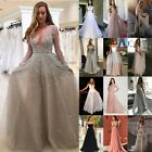 Women Formal Wedding Ball Gown Bridesmaid Evening Cocktail Prom Maxi Long Dress