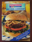 Weight Watchers Fast Food Companion 123 Success paperback 1998