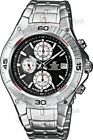 Casio EF-520D-1A Men's Edifice Watch [4307] Stainless Steel Chronograph Date NEW