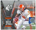 2014 UPPER DECK SPX FOOTBALL HOBBY BOX!!!