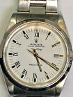 Rolex Model 14000M Oyster Perpetual Air-King Precision 34mm White Dial Watch