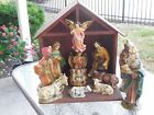 13 pc Nativity Set Manger Scene Christmas Decorations Holiday
