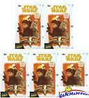 (5) 2018 Topps SOLO: A Star Wars Story 24 Pack Factory Sealed HOBBY Box-10 HITS!