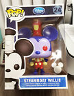 """FUNKO POP! Disney Steamboat Willie 9"""" Redux 2013 D23 1 250 LE *BOX IMPERFECTIONS"""