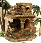 FONTANINI ITALY 5 SERIES RETIRED WORKSHOP NATIVITY VILLAGE BUILDING 97058 MIB