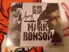 Rare Hand Signed Amy Winehouse Mark Ronson Valerie Autographed Single CD