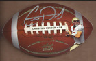 2011 Leaf Ultimate Draft Football Die Cuts Gold Christian Ponder Auto 20