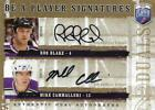 2006-07 Be A Player Signatures Duals #DBC Rob Blake Mike Cammalleri Auto
