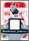 2010-11 SP Game Used Authentic Fabrics #AFMB Martin Brodeur Jersey