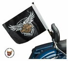 NEW IN PACKAGE HARLEY DAVIDSON 115TH ANNIVERSARY TOUR PACK FLAG KIT PN/ 61400523