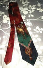 Seldom Found Vintage Polo Ralph Lauren Native American On Horseback Necktie Tie