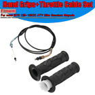 2x Moped Scooter Throttle Turn Handlebar Grip Cable for GY6 125-150CC ATV Bike