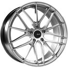 20 Inch Advanti Racing 83S 20x10 5x112 +35mm Silver Wheel Rim