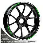 Trims Wheel Two-Coloured Stickers Wheels Honda CRM 125r Hm Wheel White Green