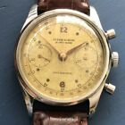Vintage Ulysse Nardin Chronograph  SS Case Working Condition